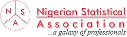 Nigerian Statistical Association Logo - A Galaxy of Professional Statisticians